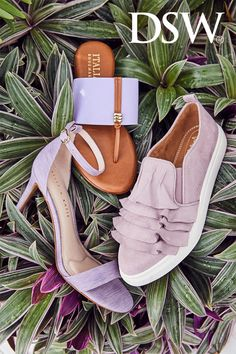 Spring has sprung! Shop fresh new kicks, sandals, sneakers & more only at dsw.com