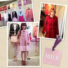 【 ☆ファッション最新情報☆ 少女と大人が混在するガーリーでロマンティックな『MILK』展示会へ♪ 】 Wardrobe Rack, Beauty, Beauty Illustration