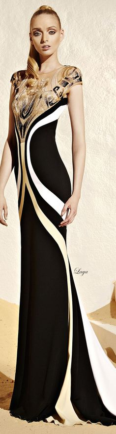 ZUHAIR MURAD Ready-to-wear Resort 2015✿Laya