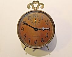 Antique alarm clock from GIG 4 Antiques
