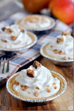 Mini Apple Toffee Pies