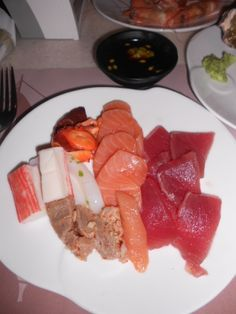 Assorted Sashimi/Vikings, Mall of Asia Sashimi, Buffets, Vikings, Mall, Asia, Japan, Cheese, Food, The Vikings
