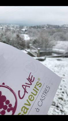 Neige froid castres tarn caviste cave Saveurs logo vin