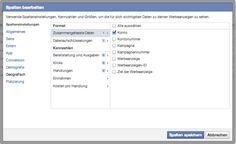 Facebook-Anzeigen 2014 für Anfänger: Regelmäßige Auswertungen erhalten und drei Reports, die man kennen sollte - Mehr Infos zum Thema auch unter http://vslink.de/internetmarketing