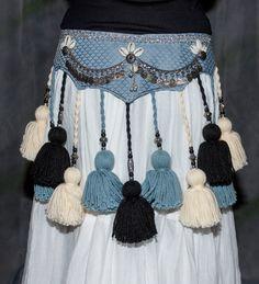 ATS Tribal Yarn Tassel Belt