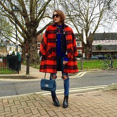 """31 Perfect Looks To Copy This December #refinery29  http://www.refinery29.com/december-outfit-of-the-day-ideas#slide-15  Double the jackets, double the fun (and double the warmth, too!).Jaeger sweater, Russell & Bromley shoes.AG The Legging Ankle Jeans, $225, available at <a href=""""https://www.shopbop.com/legging-ankle-jean-ag/vp/v=1/1521113491.htm?currencyCode=USD&extid=SE_froogle_SC_usa&cvosrc=cse.google.AGJEA40..."""
