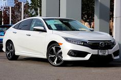 2016 Honda Civic Touring white - Google Search