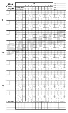 baseball pitching charts pitching chart for clipboard | Baseball | Pinterest | Fastpitch ...