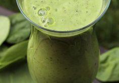 O segredo do suco verde antibarriga é a linhaça.
