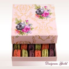 Beautiful Laduree box with macarons - love!