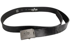 Ремінь Camo Leather Belt Alpha Industries (чорний)  Наявність: під замовлення  Ціна: 34 $