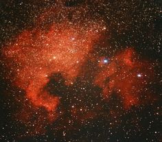 The North America Nebula