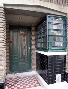 Art Nouveau, Art Deco, Modernism, Doorway, Bauhaus, Building Design, Gates, Garage Doors, Construction