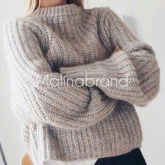 Тёплый-тёплый свитер
