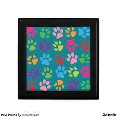 Paw Prints Keepsake Boxes #Paw #Print #Animal #Pet #Dog #Cat #Keepsake #Trinket #Gift #Box