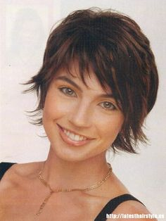 Don't want short hair, but love the jagged, choppy bangs that are not in your freakin eyes. And even with longer hair, I want some graduated jaggy layers around my face.