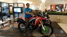 First impression Honda CRF 250 Rally di Surabaya - 2017
