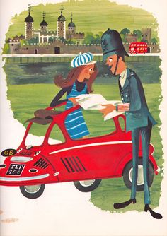 Policemen of the World, illustrated by Richard Erdoes, 1969.