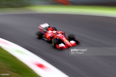 Sebastian Vettel of Germany and Ferrari drives during practice for the Formula One Grand Prix of Italy (Photo by Mark Thompson) Mark Thompson, Sport Photography, F1 Racing, Formula One, Grand Prix, Ferrari, Germany, The Incredibles, Italy