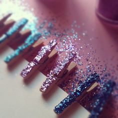 Glitter, glitter and more glitter