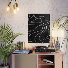 Ebb and Flow 2 - Black on White Poster by laec | Society6 Night Painting, Constellation Poster, Painting, Abstract Art Poster, Poster Art, Art, Abstract, Abstract Poster, Street Art