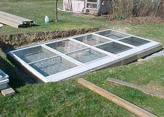 How to Build a Greenhouse from Used Windows or Storm Doors  DIY Greenhouse Plan to Grow Vegetables All Winter Long