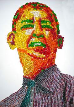 Gummy Bear Portraits .. what!!