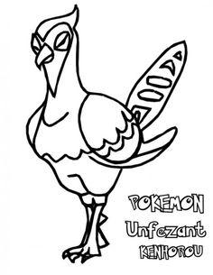 Pokemon Coloring Pages Kyurem Monferno
