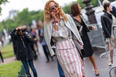 Уличная мода: Стиль Элины Халими