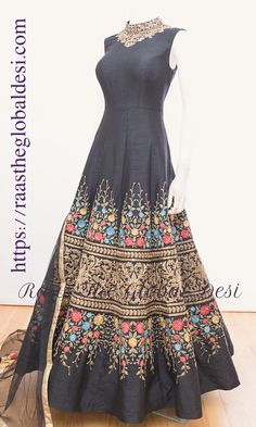 Shop premium range of Anarkali gown online USA,Indian clothes online, Indian dresses and Indian Gowns, Indian Attire, Indian Outfits, Indian Long Frocks, Indian Hair, Long Gown Dress, Long Dresses, Blue Dresses, Reception Gown