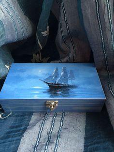 """Купить """"Корабли в моей гавани.."""" Купюрницы - купюрница декупаж, купюрница…"""