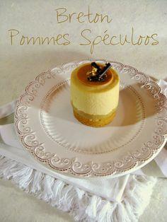 J'en reprendrai bien un bout...: Sablé Breton aux Pommes & Mousse aux Spéculoos