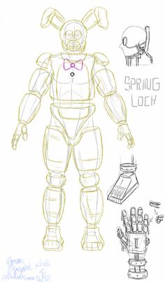 Realistic Spring Suit In My Eyes This Drawing Is Of What I