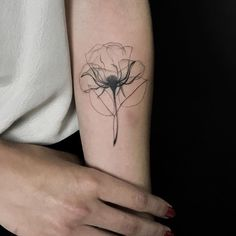 X-Ray Rose | Best tattoo design ideas #NeatTattoosIWouldHave