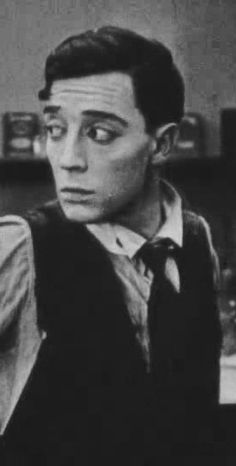 Buster Keaton (such a baby face...)