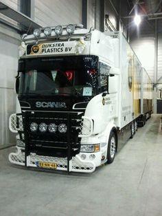 Scania truck   Dijkstra Plastics BV