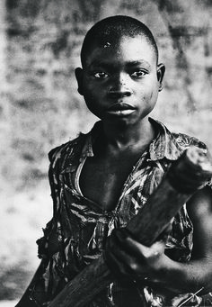 Child soldier, Stephan Welz and Co - CT June auction - Guy Tillim How very sad. !!