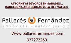 Abogados expertos en Divorcios en Sabadell y Barcelona. http://www.abogadodivorciosabadell.es