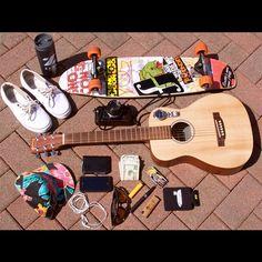"""""""My summer essentials. #summerswerve"""" - Austen Sweetin"""
