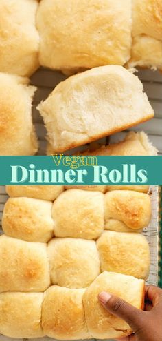 Vegan Dinner Rolls Budget Meals, Budget Recipes, Quick Recipes, Bread Recipes, Best Pans, Side Dishes For Bbq, Money Saving Meals, Tasty, Yummy Food
