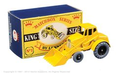 The Ultimate Matchbox Grizzly Collection of Ralph Richter   Kingsize   Vectis Toy Auctions Matchbox Kingsize K1 Weatherill Hydraulic Shovel
