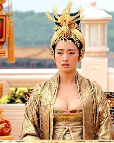 Gong Li as the Phoenix Empress