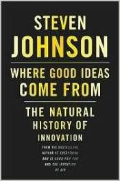 Learn how to achieve breakthroughs in creativity. Key quotes and lessons from Steven Johnson's book 'Where Good Ideas Come From'.