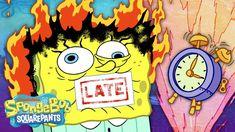 "SpongeBob's Broken Alarm Clock ⏰ Full Scene ""Broken Alarm"""