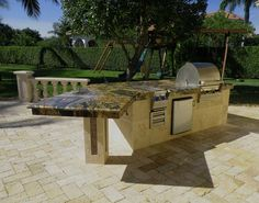 outdoor kitchen bar outdoor kitchens (5b) granite | backyard