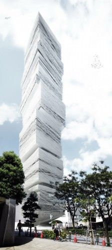 Tokyo Fashion Museum Proposal / MUS Architects