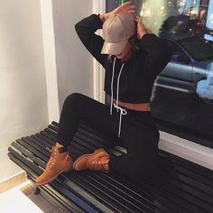 "MADELEINE BITICI on Instagram: ""Hood by day, fancy at night"""