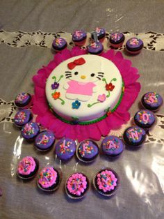 torta y cupcake