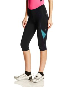 Pearl Izumi Ride Womens Sugar Cycling 34 Tights BlackDeep Lake Large   More  info could be found at the image url. 574bc0ddd