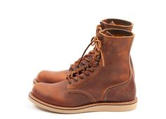 "Red Wing Shoes 4572 - 7"" Classic Round Copper Rough & Tough - http://www.redwingamsterdam.com/red-wing-shoes-4572-7-classic-round-copper-rough-tough/ws-pr/pr518"